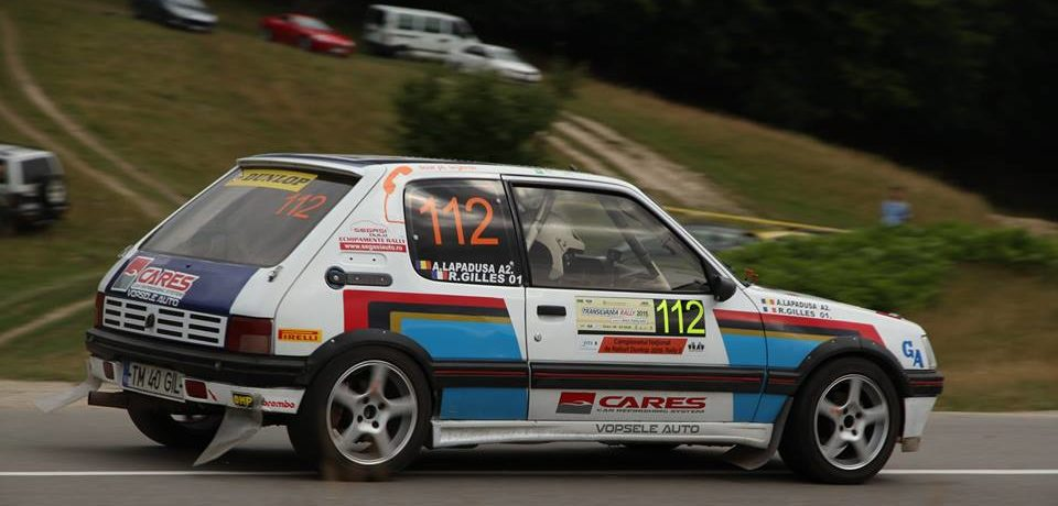 Romain Gilles – Alin Lapadusa liderii campionatului Rally 2