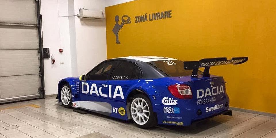 Costi Stratnic aduce Dacia Logan STCC in Campionatul Natinal de Viteza in Coasta