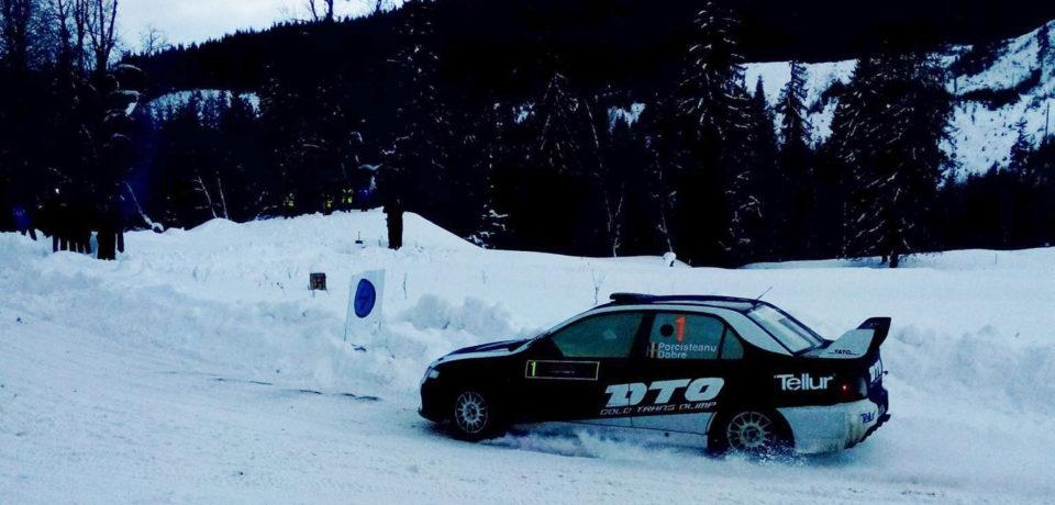 Porcisteanu castiga editia a X-a a Winter Rally Covasna