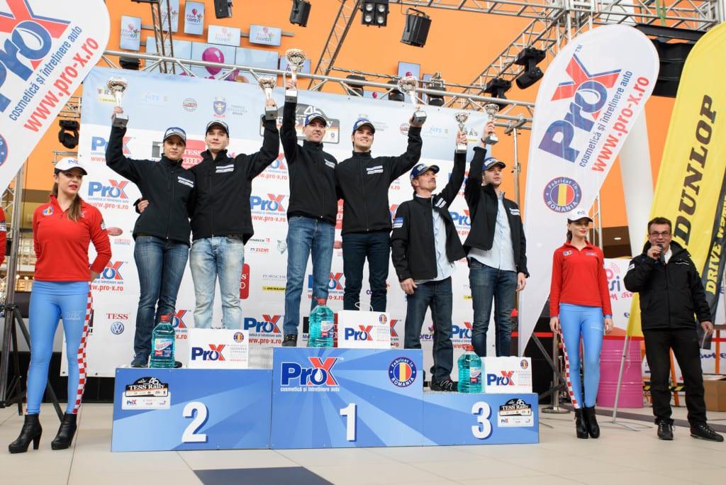 Cupa Dacia 2016 Tess Rally Premiere-clasament-general