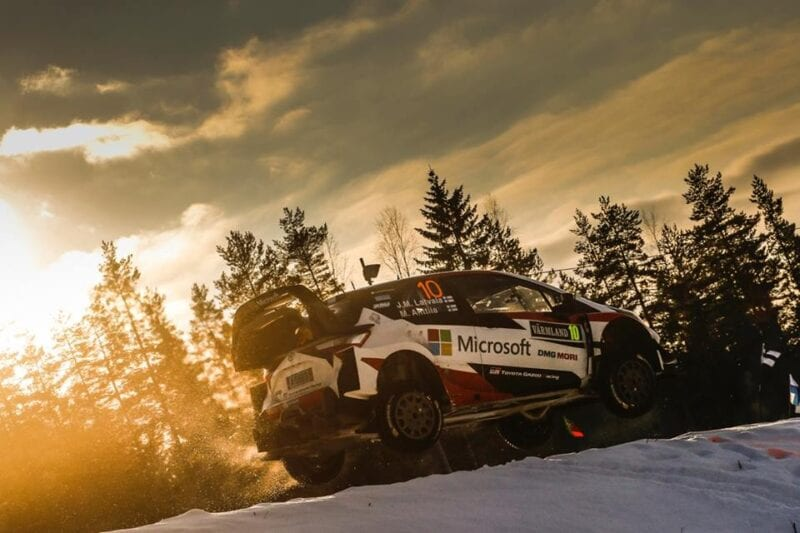 Latvala WRC Suedia